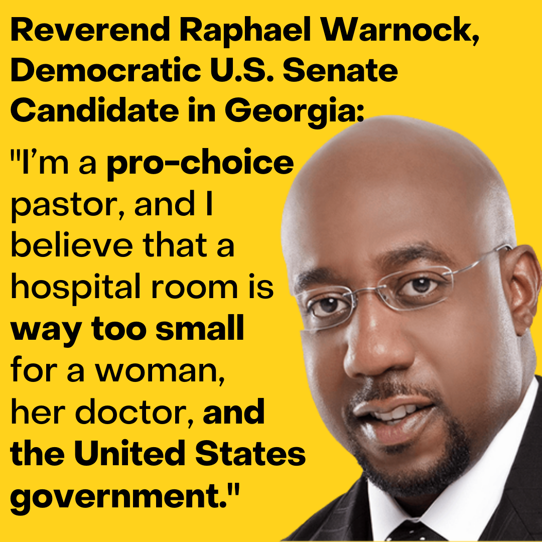 Reproductive Rights - Reverend Raphael Warnock