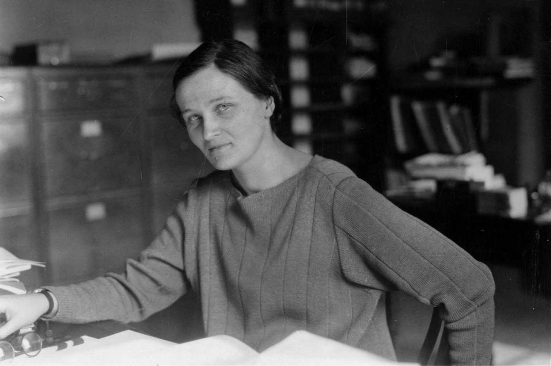 CECILIA PAYNE -  She discovered what the universe is made of.