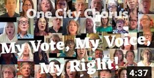MY VOTE, MY VOICE, MY RIGHT
